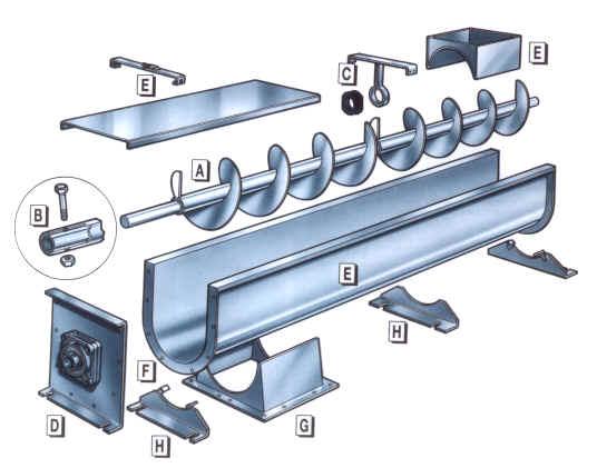 Grain Auger - Premier Components