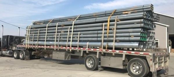 Spout truck load